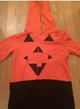 Bnwt Mamas And Papas Pumpkin One piece Halloween fancy dress 2-3 unisex boy girl
