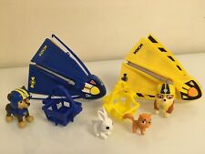 Paw Patrol Ultimate Rescue Chase & Rubble's Ultimate Hang Gliders Kitty Set