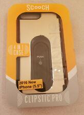 Scooch Clipstic 4in1 Air Vent Car Mount Case for iPhone 7 Plus Gold Aluminum