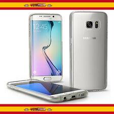 Funda Gel TPU Ultrafina para Samsung Galaxy S7 Edge Transparente 100% Silicona