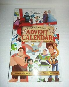 New Disney Storybook Collection Advent Calendar 24 Books Christmas Holiday Book