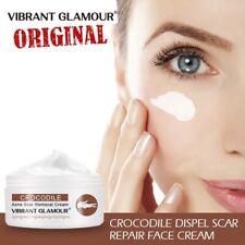 Crocodile Face Cream Repair Scar Serum Removal Acne Marks Shrink Pores Brighten