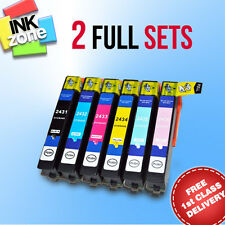 2 Full Sets of non-OEM Ink Cartridges for EPSON Expression Photo XP-950 XP-960