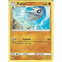 Pupitar 80/181 - Uncommon Card - Pokemon Sun & Moon Team Up SM-9 TCG