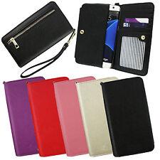 PU Leder Clutch Geldbörse Folio Tasche Hülle für CoolPad Telefone