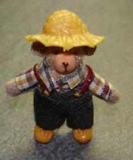 Miniatur Mann mit Hut   #3836  Puppenstube 1:12