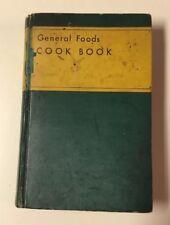 General Foods COOK BOOK 1934 Vintage
