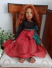 Mona Wippler Sigikid Künstler Puppe - limitiert mit Zertifikat