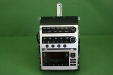 2005 INFINITI G35 AM FM 6 DISC CD BOSE RADIO CLIMATE CONTROL SYSTEM 28185 AC705