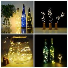 1.5M 20Led Cork Shaped LED Night Light Starry Light Wine Bottle Lamp Party Decor