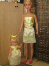 OOAK  Deliciously Icy Yellow Sherbert Maid of Honor/  for My Size Barbie & Kelly