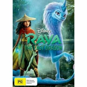 Raya and The Last Dragon BRAND NEW Region 4 DVD DISNEY