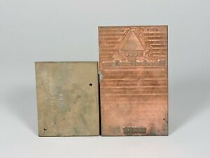 Brass and Copper Printing Plates