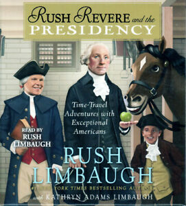 New RUSH REVERE AND THE PRESIDENCY Unabridged Audio CD of Book 5 Limbaugh