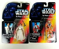 Hasbro Star Wars: Princess Leia Organa & Luke Skywalker Action Figures Sealed