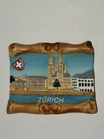 Zurich 3D Resin Fridge Magnet