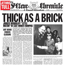 Jethro Tull Thick as a Brick UK LP Booklet 2012 180g Vinyl