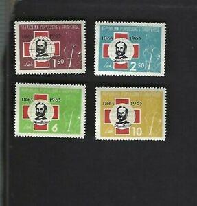 Albania sc#649-52 (1963) Complete MNH