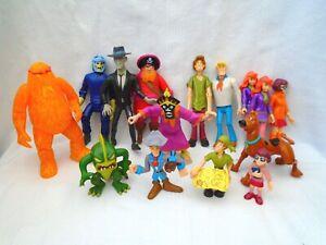 Scooby Doo Monster & Villian Action figures bundle / lot