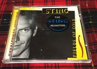 The Best of Sting CD The Sting remasters Fields Of Gold 1984 1994 A&M 1998
