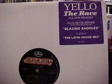 "Yello The Race 3 mixes ,Blazing Saddles Us Dj 12"""