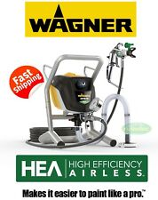 WAGNER PROJECT PRO 350 EXTRA AIRLESS SPRAY GUN PAINT NEW FAST HOSE KIT HOUSE
