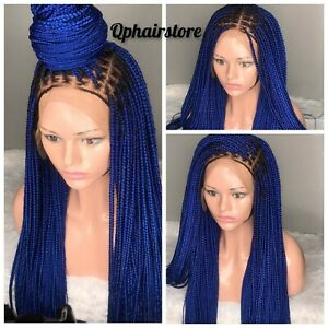 Braided Lace Wig /Women Braided Wig/pre-order/Ghana braids wig/ Updo