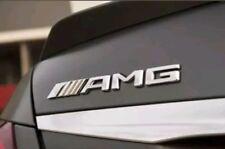 AMG Logo Chrome Coffre trunk Mercedes Emblema aufkleber badge sigle sticker