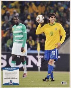 RICARDO KAKA Signed 11x14 Photo Autograph Team Brazil B ~ Beckett BAS COA