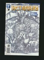 Wetworks #1, Whilce Portacio Sketch Variant Cover