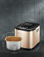 Yabano 650W Bread maker 19 Programs Machine of Make Pan with Dispenser Automatic