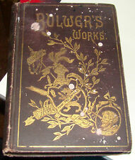 Bulwer's Works, Vol 1 & Vol 2, P.F. Collier, 1850