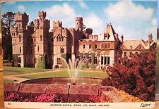 Irish Postcard ASHFORD CASTLE Fountain Cong County Mayo Ireland 1980s Dollard