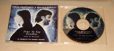 Single CD Sarah Brightman & Andrea Bocelli  - Time to say Goodbye 1996  MCD S 1