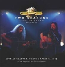 TWO SEASONS: LIVE IN JAPAN 2 [AUDIO CD] GPS NEW DVD