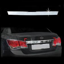 Chrome Trunk Lid/Handle Garnish Molding Trim Cover for 08+ Chevrolet Cruze