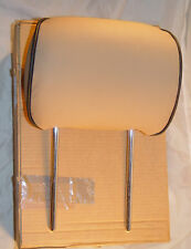 Land Rover Range Rover 2003-2006 FEO Leather Headrest Navy Parchment Ivory Black