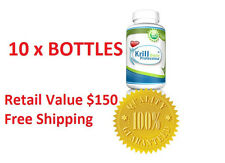 WHOLESALE  KRILL OIL -  10 BOTTLES -1200mg - 600ct - FREE SHIPPING