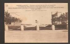 VARENNES-en-ARGONNE (55) Monument Americain en 1926