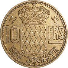 MONACO 10 Francs 1951 KM#130 Rainier III (4176) mintage: 500,000