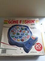 Vintage Retro Game GONE FISHING