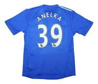 Chelsea 2009-10 Authentic Home Shirt Anelka #39 (Excellent) L Soccer Jersey