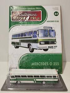 IXO IST MERCEDES O 355 Kultowe Autobusy PRL-u 1:72 no.64 polish bus