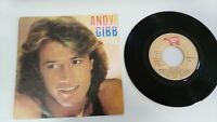 "ANDY GIBB BEE GEES DESIRE SINGLE 7"" VINYL SPANISH EDITION MEGA RARE!!!"