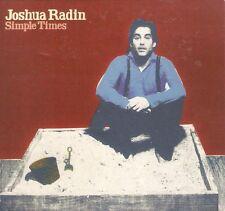 Joshua Radin - Simple Times (CD 2010) Card sleeve; Enhanced