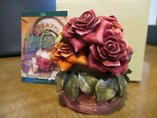 Nice Valentine Flower Gift Harmony Kingdom Garden Series Rose Party