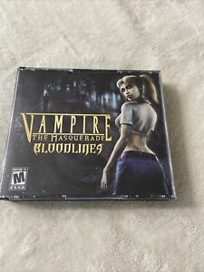 PC DVD - Vampire The Masquerade Bloodlines 3 Disc Set,