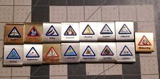 Assorted Lot Boy Scout Belt Skill Metal Awards Cub Scouts