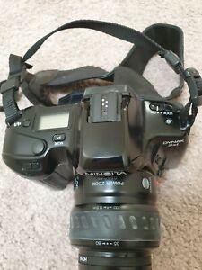 Minolta DYNAX 3xi Film Camera with Minolta AF 35-80 mm lens and UV Filter