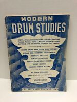 Modern Drum Studies Book by Simon Sternburg Snare Drum Bass Timpani Percussion